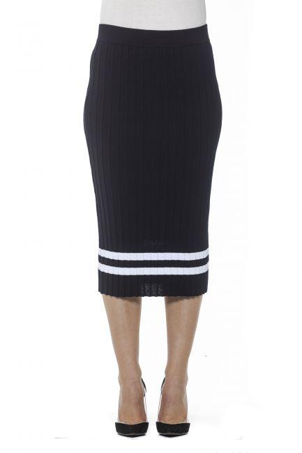 Skirt Alpha Studio AD8095M_5082BLUNAVY