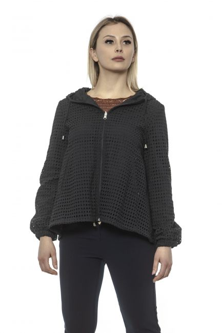Women's Double-faced Jacket Alpha Studio AD8370N_5181NERO