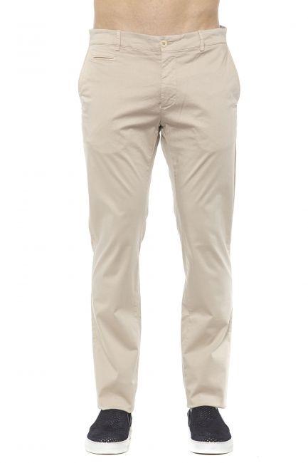 Pantalone Alpha Studio Uomo Beige AU2610Q_8352SABBIA