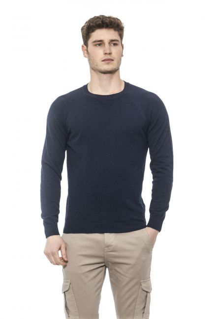 Men's Crew Neck Sweater Alpha Studio AU2180C_8113NOTTE