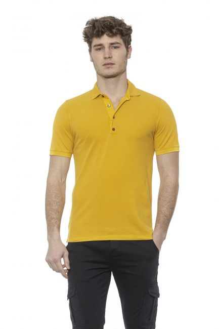 Polo shirt Alpha Studio AU7451BS_4341GIALLO
