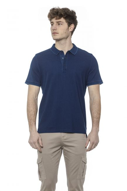 Polo Alpha Studio Uomo Blu AU7470BS_9000VAR.UNICA