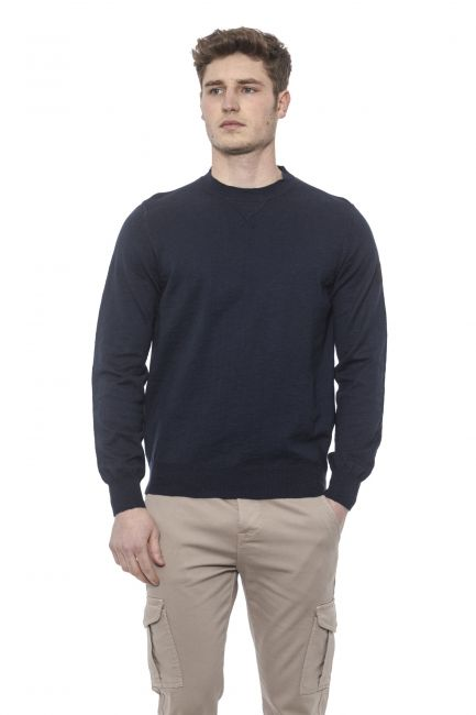 Man Sweater Conte of Florence 0485VFCACCI_00130PRUSSIANBLUE