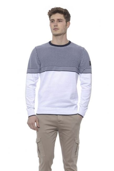 Man Sweater Conte of Florence 0485VJGORGI_00130PRUSSIANBLUE