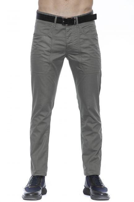 Pantalone Jeckerson Uomo Marrone P02UPA014T022203_5007OLIVA