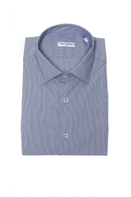 Camicia Robert Friedman Uomo light-blue LEO1SL_56966_021BiancoAzzurro