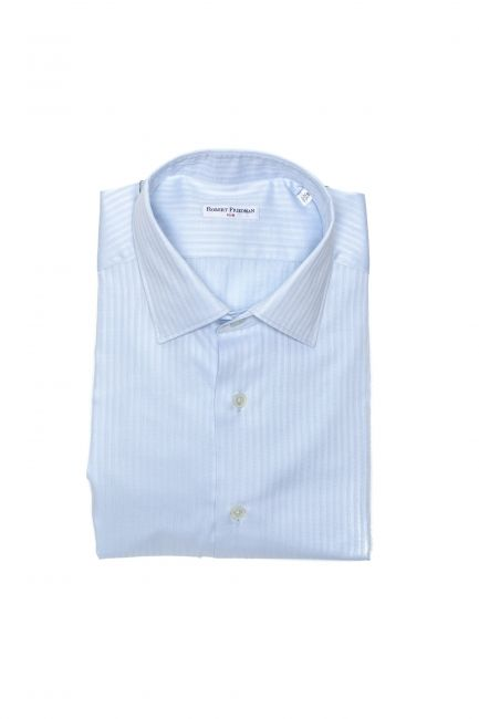 Camicia Robert Friedman Uomo light-blue LEO1SL_57515_040Azzurro
