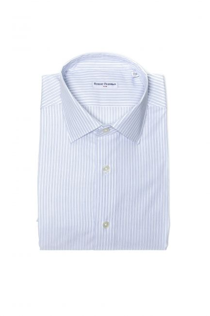 Camicia Robert Friedman Uomo light-blue LEO1SL_54199_019BiancoAzzurro