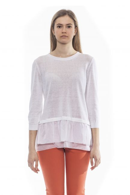 Sweater Peserico M89211F12A9056_A00BiancoWhite