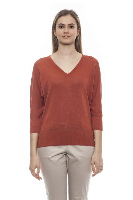 Sweater Peserico S99509F1209056_753MarroneBrown