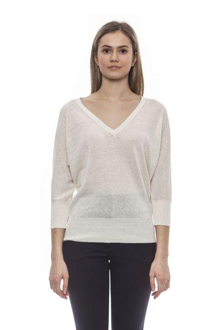 Sweater Peserico S99509F1209056_703BiancoWhite