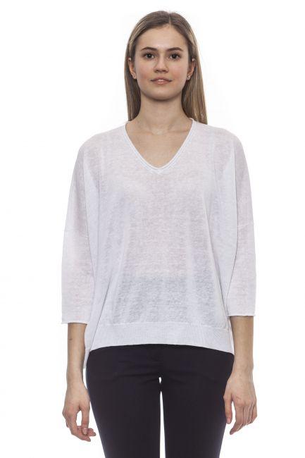 Sweater Peserico S99524F12S9056_S00BiancoWhite