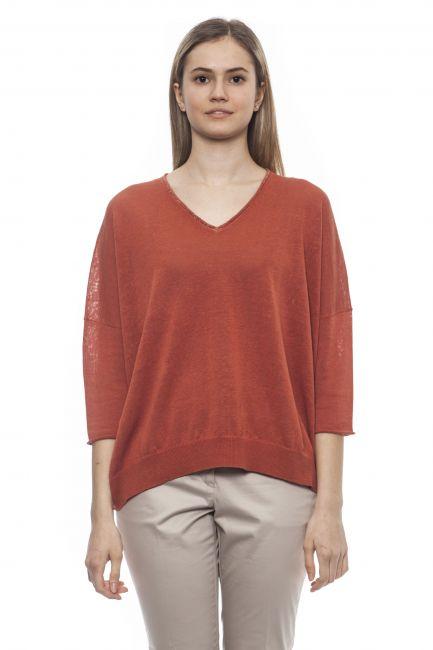 Sweater Peserico S99524F12S9056_S53MarroneBrown