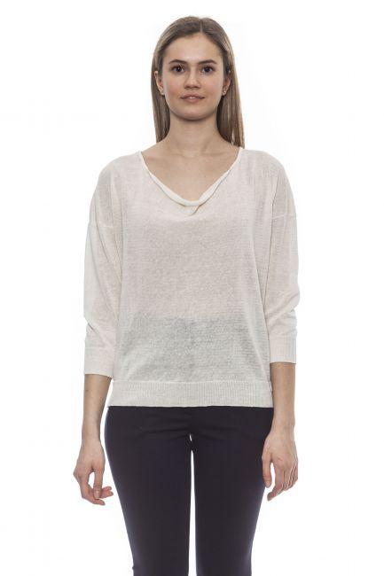 Sweater Peserico S99539F1209056_703BiancoWhite