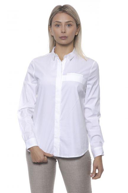 Shirt Peserico S0650208924_800BIANCO