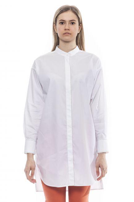 Camicia Peserico Donna Bianco S0660808928_1BiancoWhite