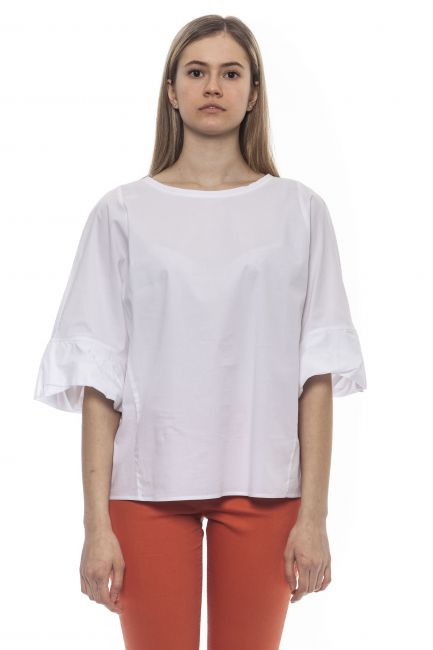 Shirt Peserico S0692508928_1BiancoWhite