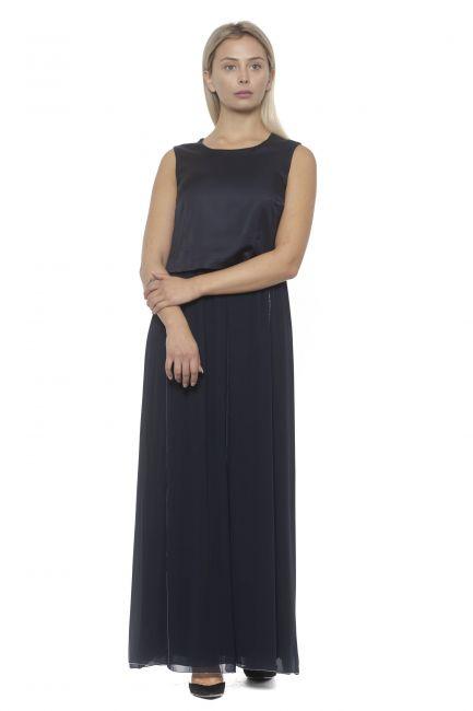 Dress Peserico S026765201A_61ABLU