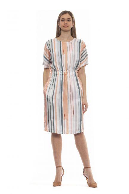 Dress Peserico S0202904792_952MarroneBrown