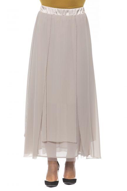 Skirt Peserico P052627309A_42ABEIGE