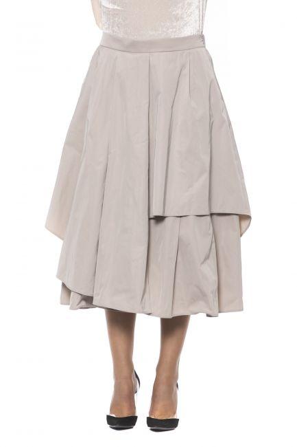 Skirt Peserico P0526806047_942BEIGE