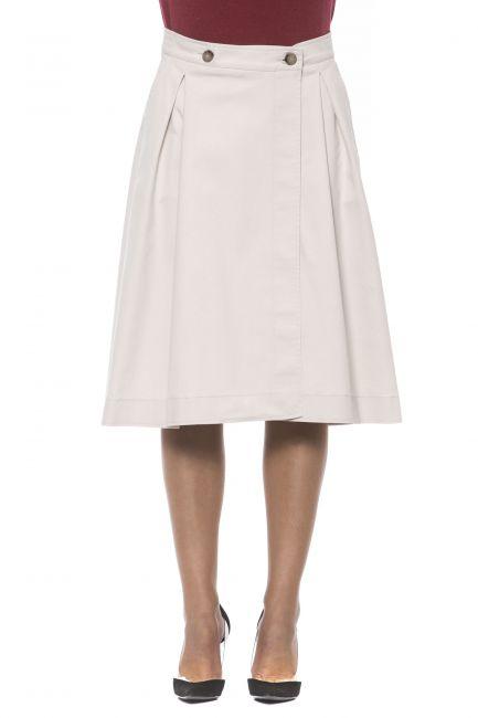 Skirt Peserico P05769L807275_842BEIGE