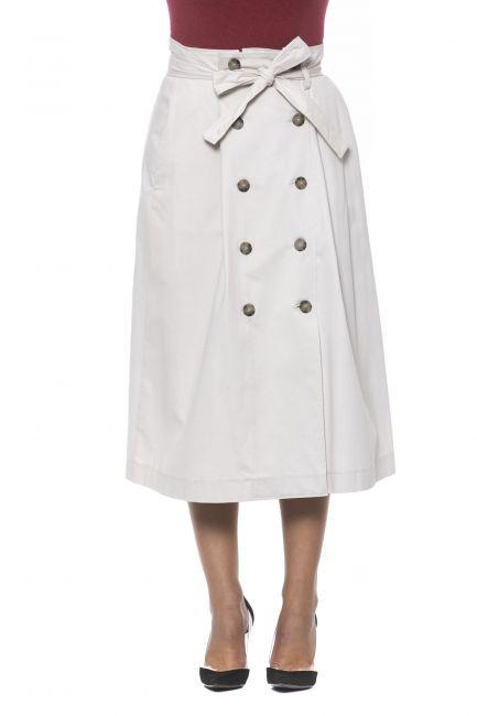 Skirt Peserico P05773L10A02495_841BEIGE