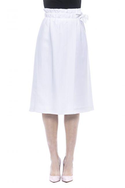 Skirt Peserico M05182D00699_700BiancoWhite