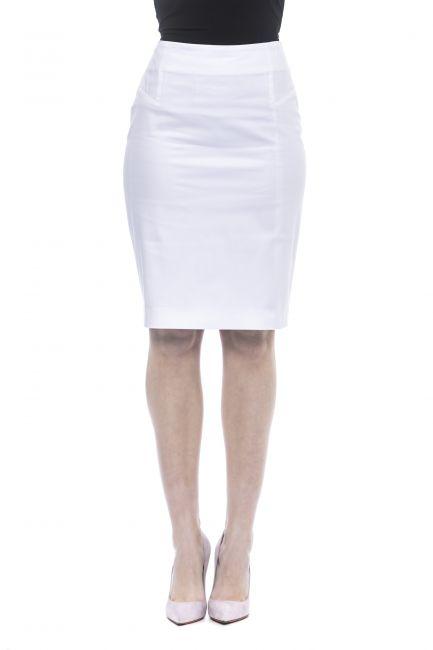 Skirt Peserico M0553400981_300BiancoWhite