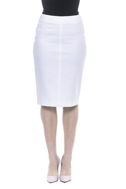 Skirt Peserico P0567000943_500BiancoWhite