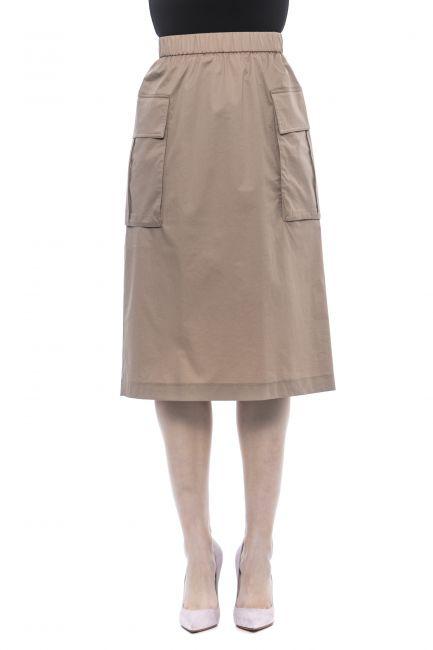 Skirt Peserico P0570001979_740Beige