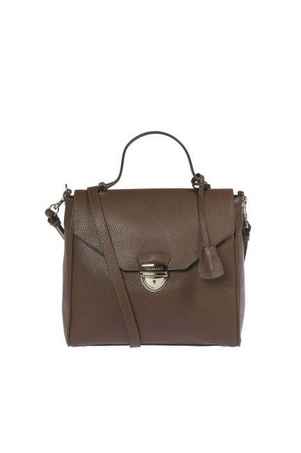 Handbag Trussardi 1DB548_69DarkBrown