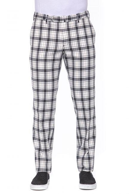 Pantalone PT Torino Uomo black/white VL01Z00SN61_0900fantasia