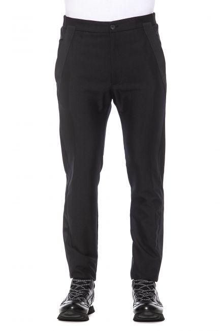 Pantalone Les Hommes Uomo Nero LHP302302C_9000Black
