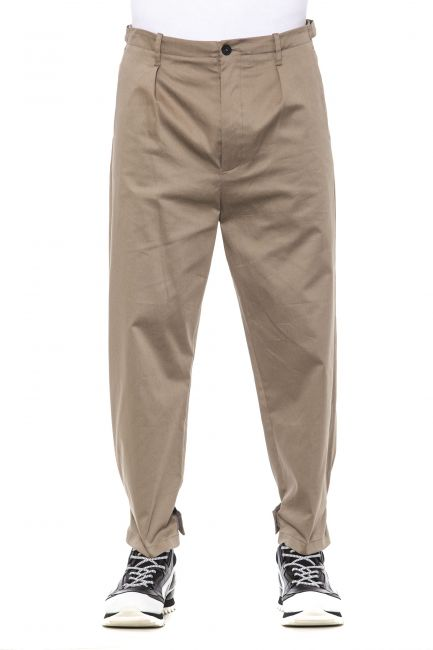 Pantalone Les Hommes Uomo Beige LHG438LG451_2200BEIGE