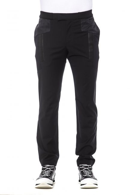 Pantalone Les Hommes Uomo Nero URF451CUF400F_9000Black