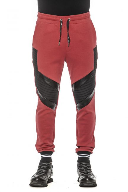 Pant Les Hommes URF881AUF854D_9051Black-Red-White