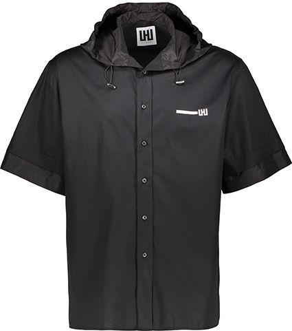Camicia Les Hommes Uomo Nero UIS201403N_9000Black