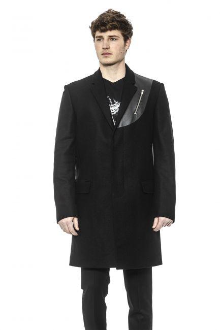 Coat Les Hommes LHQ103207L_9000Black
