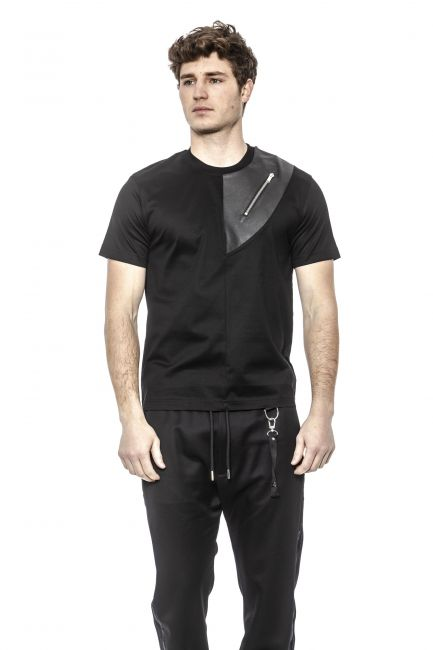 T-Shirt Les Hommes Uomo Nero LHT102703L_9000Black