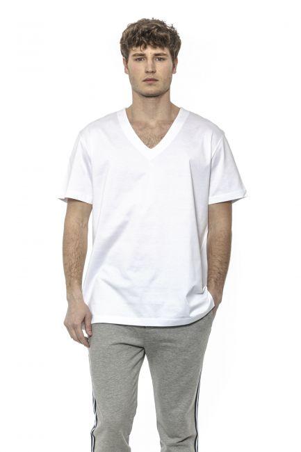 T-Shirt Les Hommes Uomo Bianco LHE825LE800_1000White