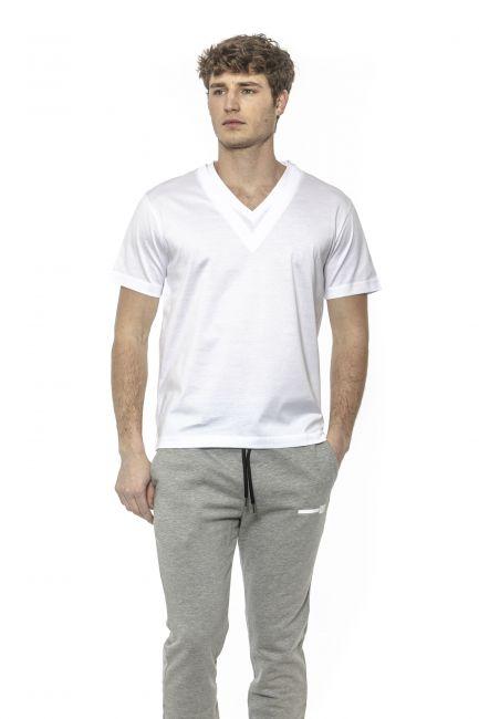 T-Shirt Les Hommes Uomo Bianco LHG805LG800_1000White
