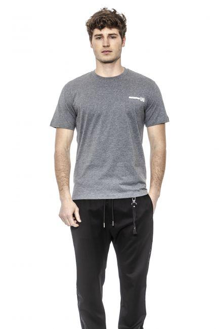 T-Shirt Les Hommes Uomo Grigio URG800PUG825_8771Multicolor