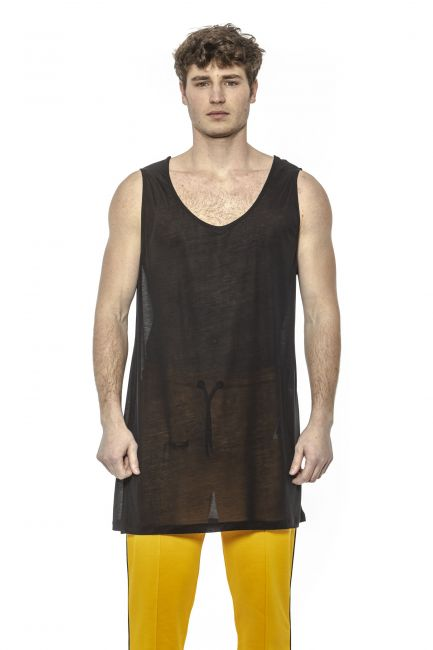 Long Tank Top Les Hommes LHG818LG840_9000Black