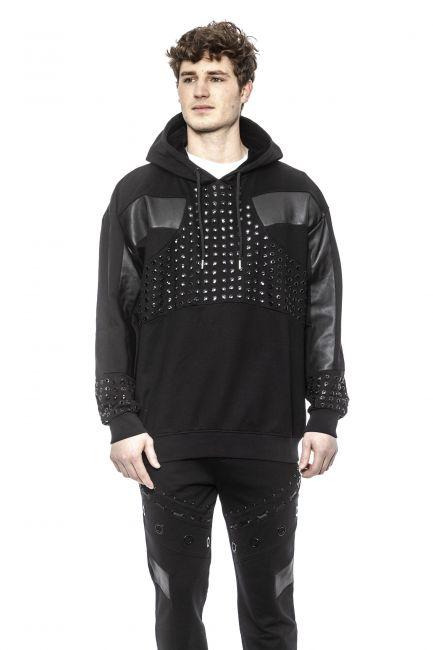 Oversize Sweatshirt Les Hommes LHF879BLF850C_9000Black