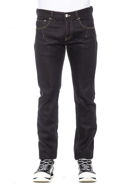 Jeans Les Hommes LHG500ELG600A_7528Navy-Burgundy-Silver