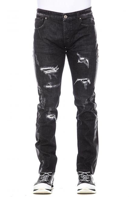 Jeans Les Hommes Uomo Nero LHG501ALG602A_9000Black