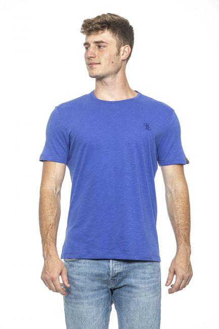 T-Shirt Billionaire Uomo light-blue BLC83278247_PERVINCA
