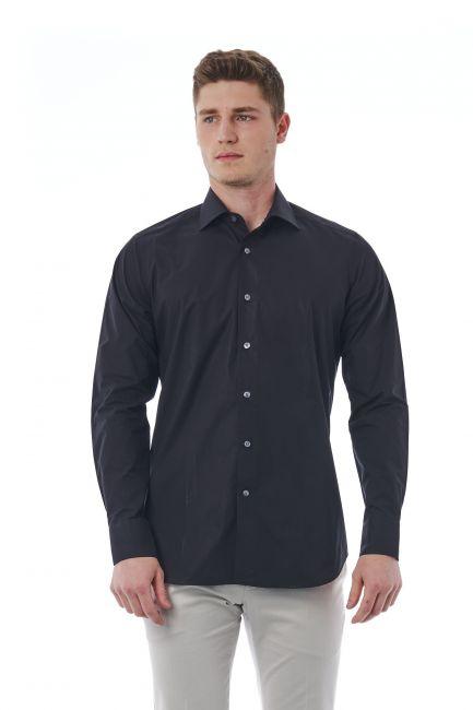 Camicia Bagutta Uomo Nero 310_BL02496_090NERO
