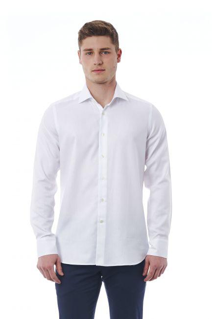 Camicia Bagutta Uomo Bianco 310_BL55666_104Bianco